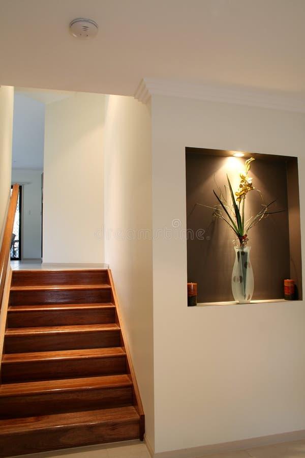 härlig trappuppgång arkivbilder