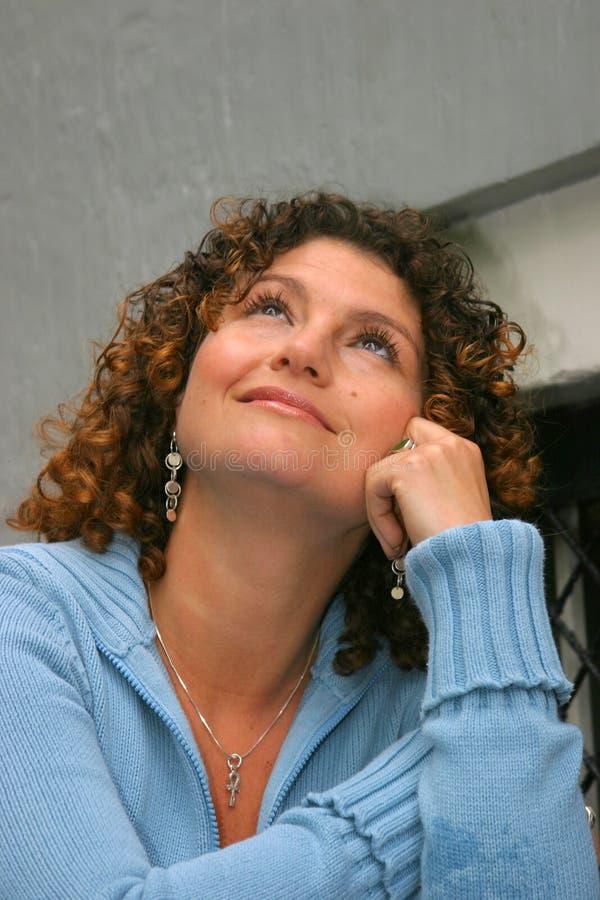 härlig tunisian kvinna royaltyfri fotografi