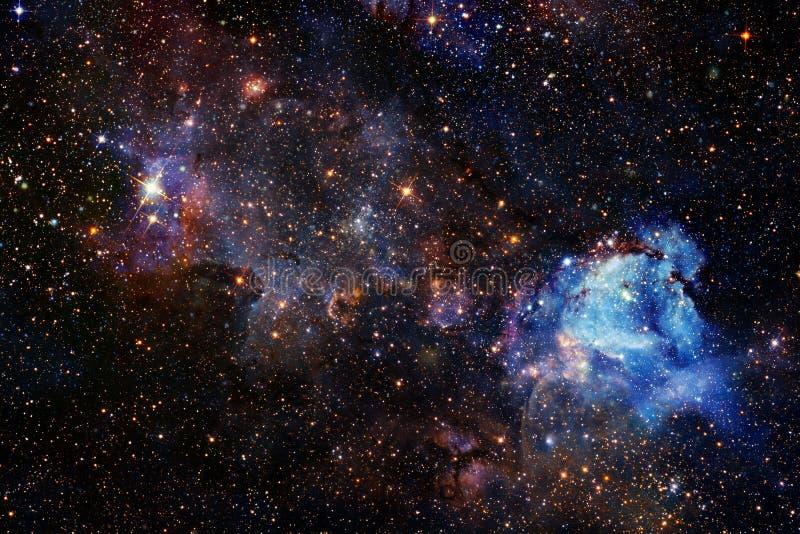 Härlig utrymmebakgrund Cosmoc konst Beståndsdelar av denna avbildar möblerat av NASA arkivfoton