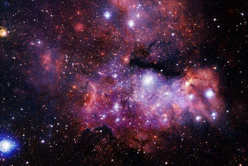 Härlig utrymmebakgrund Cosmoc konst Beståndsdelar av denna avbildar möblerat av NASA arkivbilder