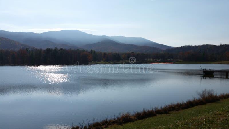 Härlig vattensikt arkivfoton