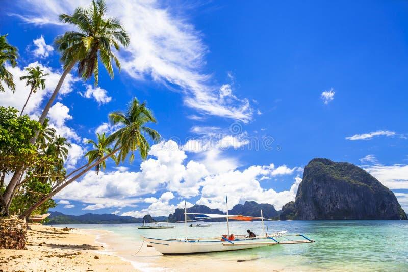 Härliga öar av Filippinerna royaltyfri foto