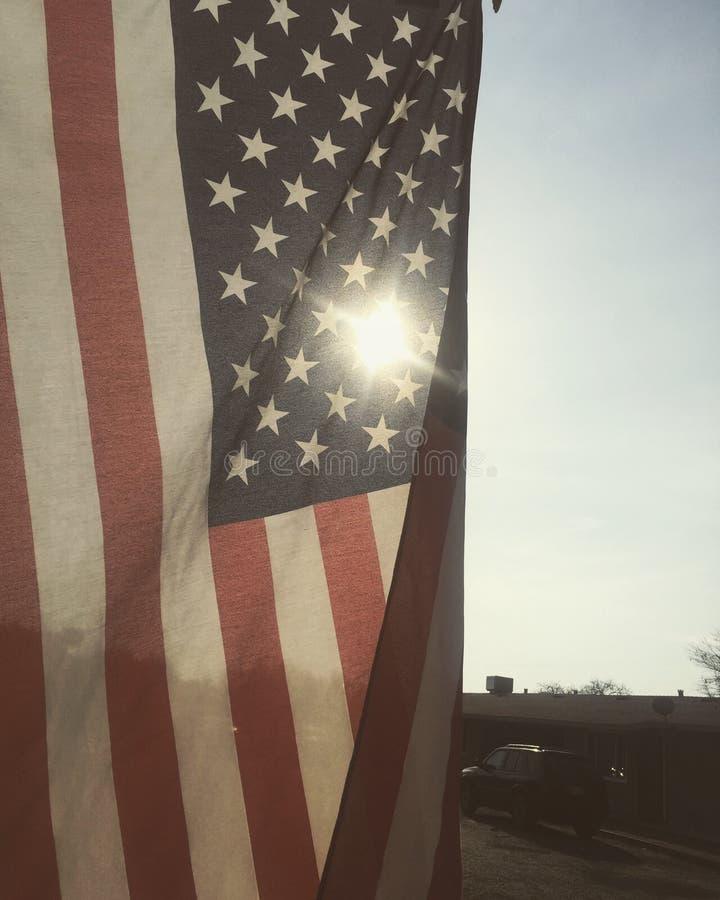 härliga Amerika royaltyfria bilder