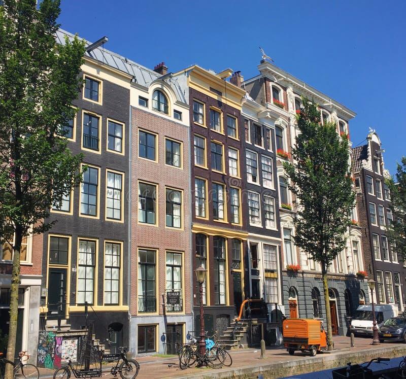 Härliga Amsterdam arkivfoton