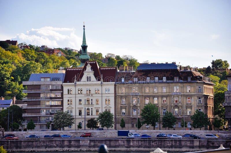 Härliga arvbyggnader i Budapest, Ungern arkivfoton
