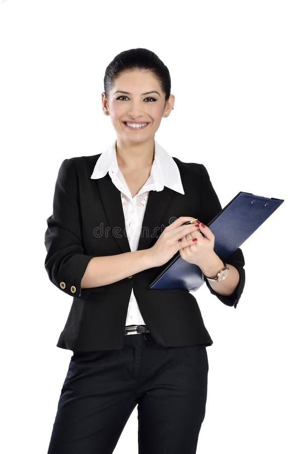 Härliga attraktiva affärskvinnor arkivbilder
