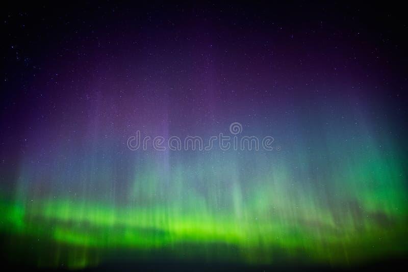 Härliga Aurora Borealis royaltyfri fotografi