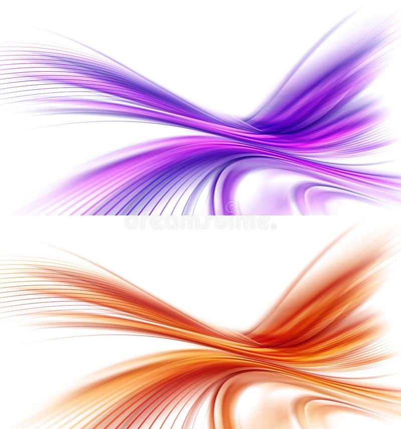 Härliga bakgrundsdesigner vektor illustrationer