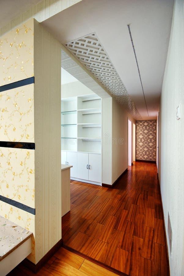 härliga bekväma dekorerade lokaler arkivbild