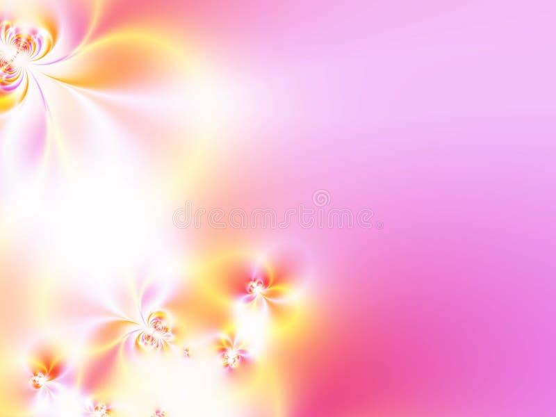 härliga blommor royaltyfri illustrationer