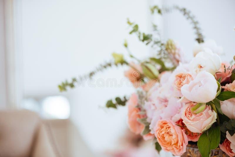Härliga blomstra blommor royaltyfri bild