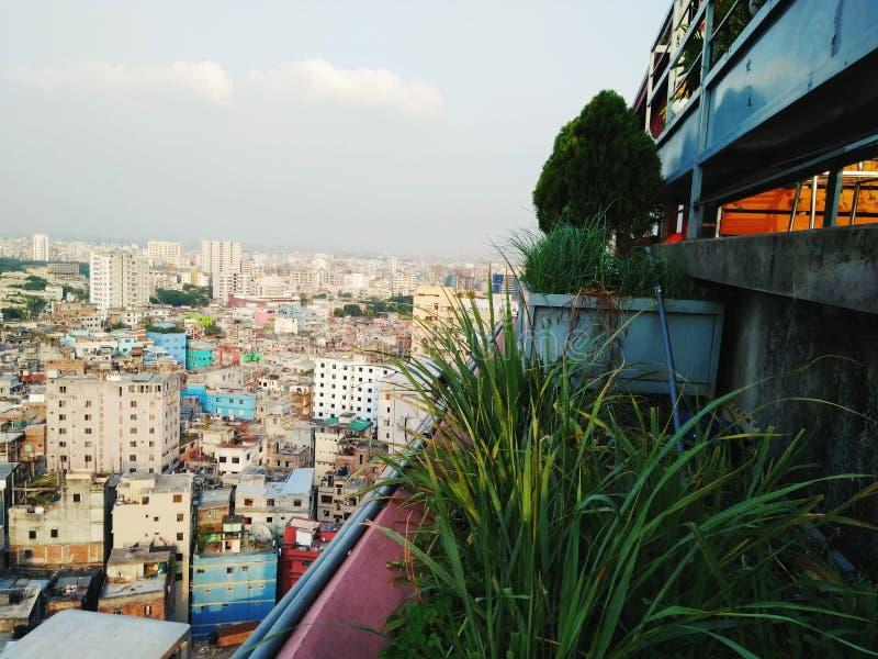 Härliga Dhaka royaltyfri foto