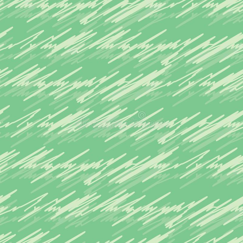Härliga klottrade linjer sömlös modell för vektor vektor illustrationer
