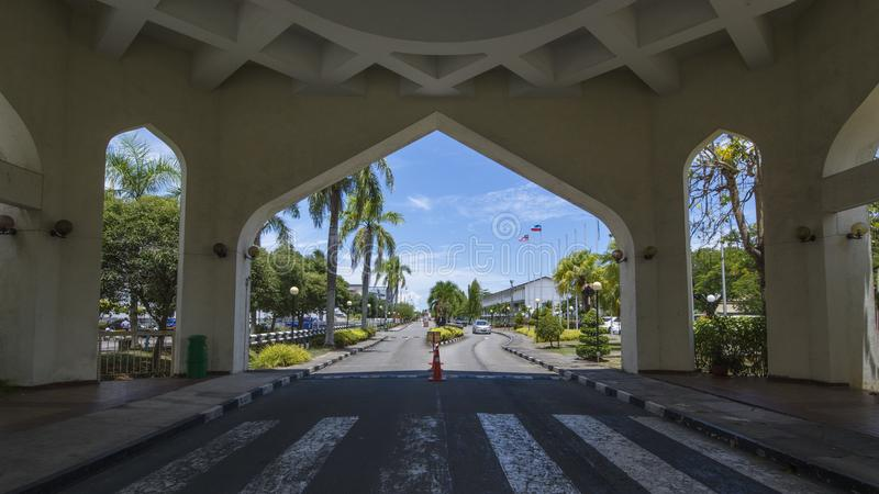 Härliga Kota Kinabalu royaltyfri bild