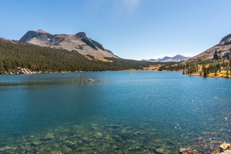 Härliga Lake Tahoe i Nevada fotografering för bildbyråer