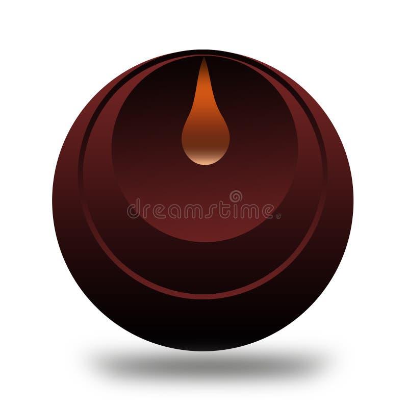 Härliga Logo Gradient Abstrak arkivfoto