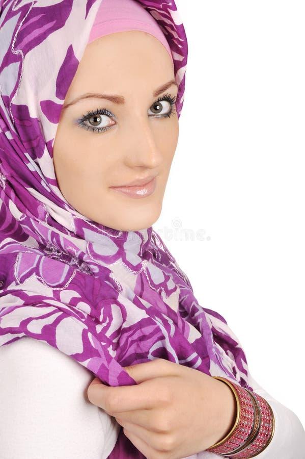 härliga muslim royaltyfria bilder