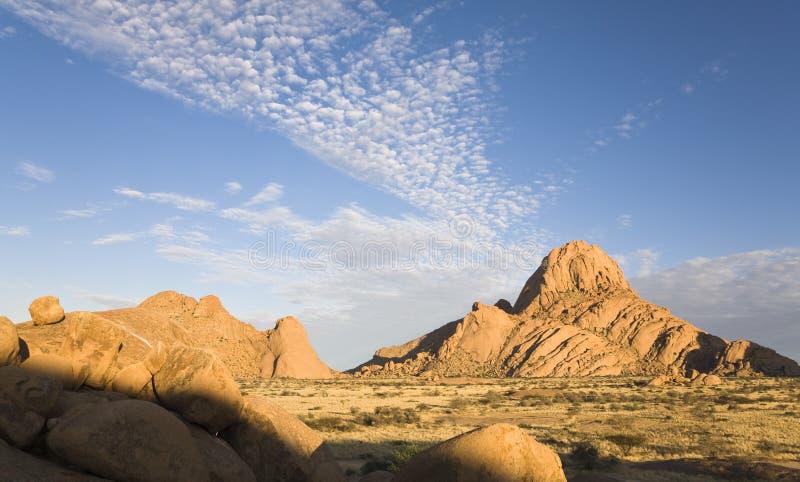 härliga namibia arkivbilder