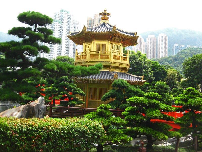 Härliga Nan Lian Garden Temple royaltyfri fotografi