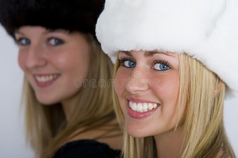 härliga ryssar arkivbild