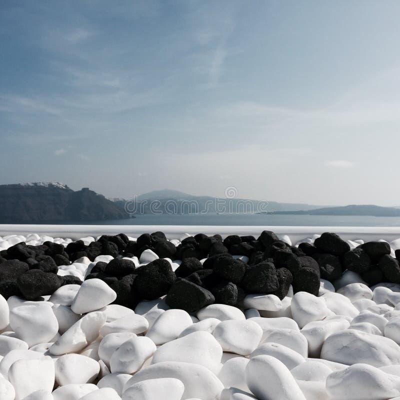 Härliga Santorini royaltyfri fotografi