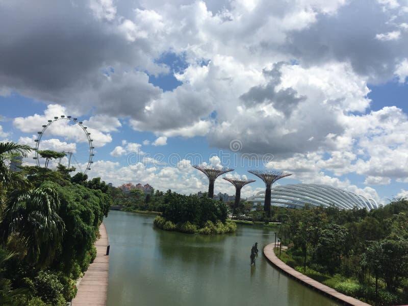 härliga singapore arkivfoto