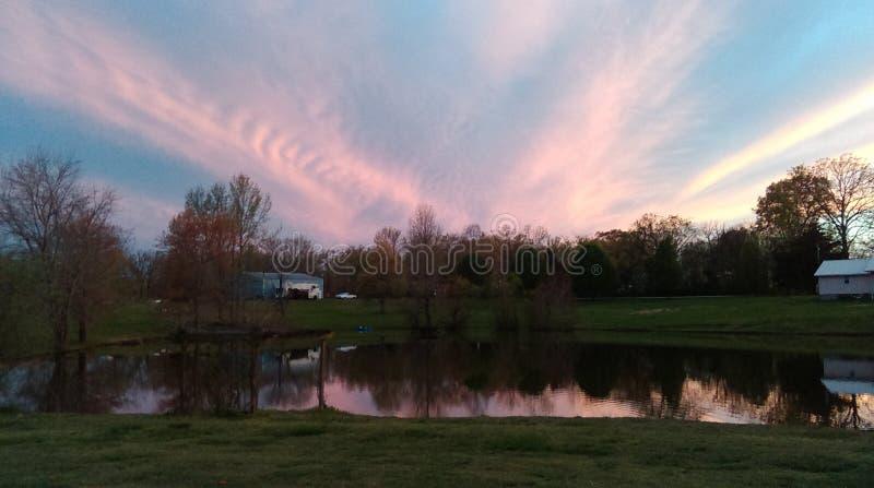 Härliga Tennessee Sky royaltyfria bilder