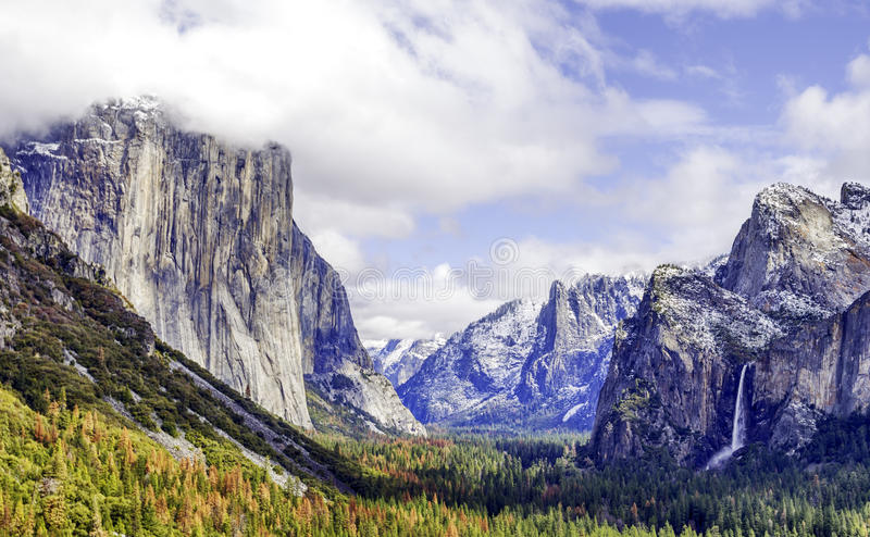 Härliga Yosemite royaltyfri foto