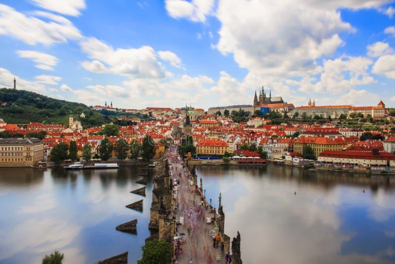 Härligheten av Prague royaltyfria foton