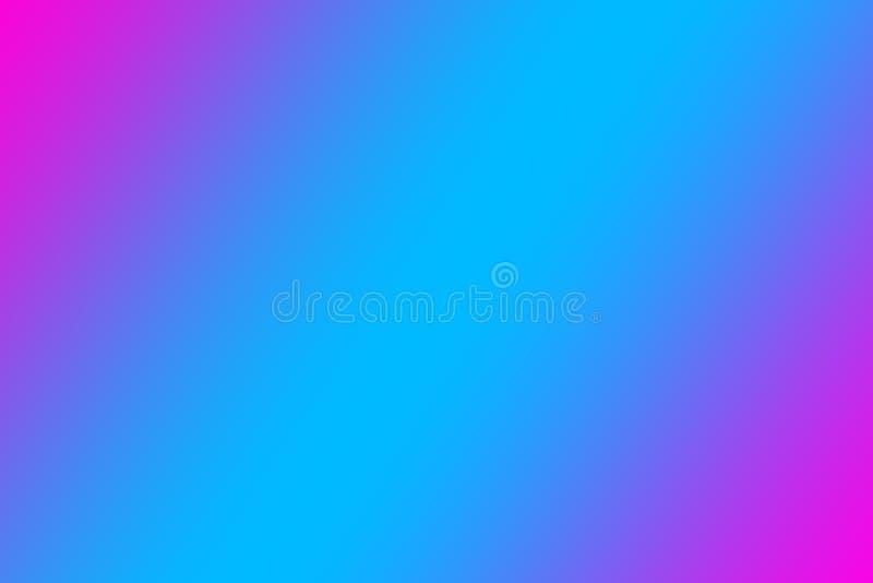 Härligt abstrakt neonglöd, neonbakgrunder rosa lila blå lutning royaltyfri illustrationer