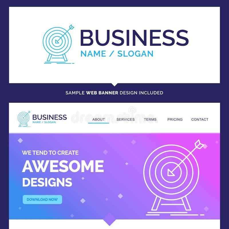 Härligt affärsidémärkesnamnmål, slag, marknad, framgång vektor illustrationer