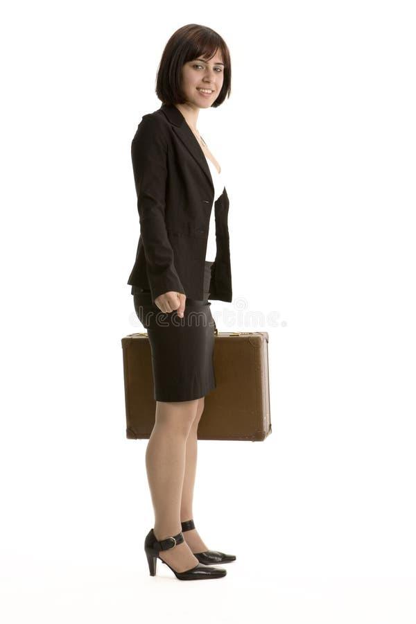 Download Härligt affärskvinnabarn arkivfoto. Bild av affär, karriär - 521674