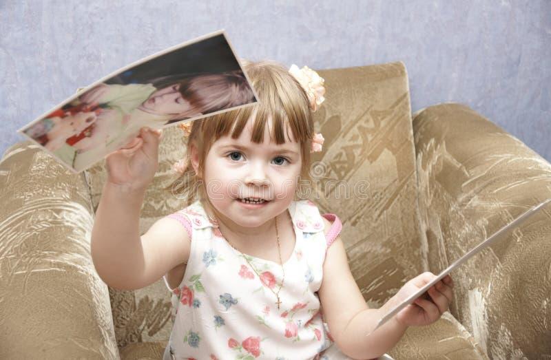 härligt barn royaltyfri foto