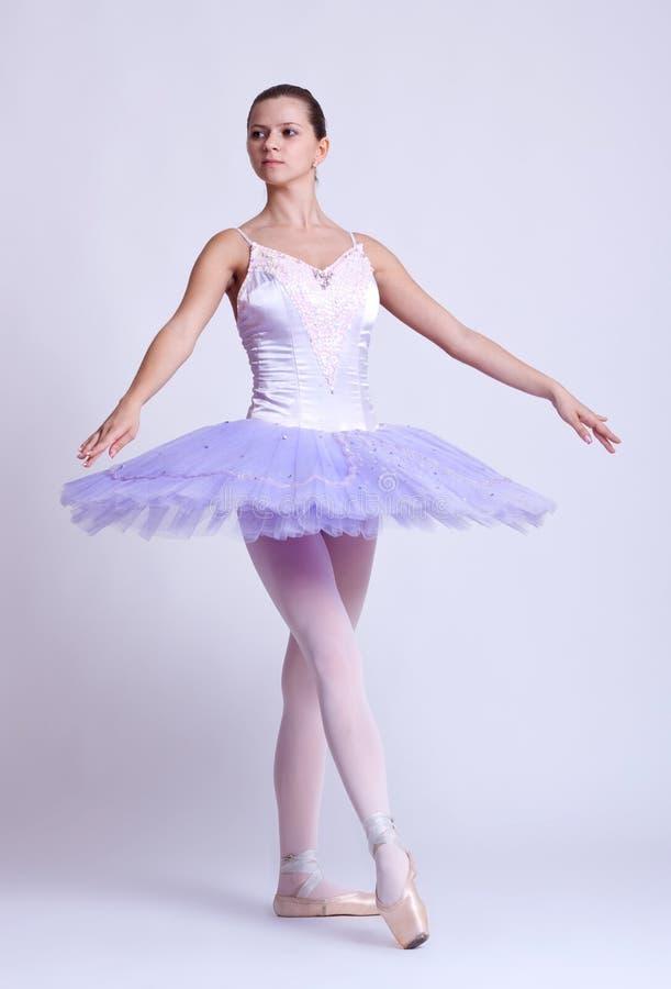 härligt barn för ballerina royaltyfri bild