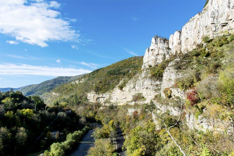 Härligt berglandskap från Bulgarien arkivbilder