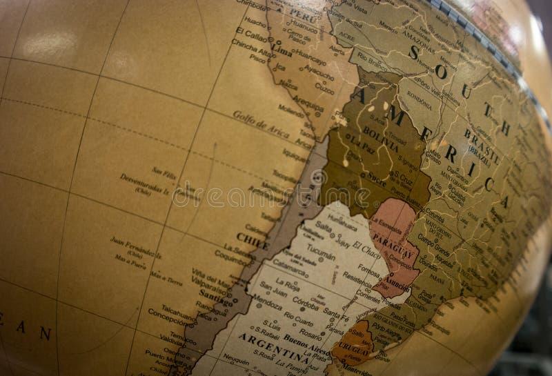 härligt dimensionellt diagram illustration södra tre för 3d Amerika mycket arkivfoton