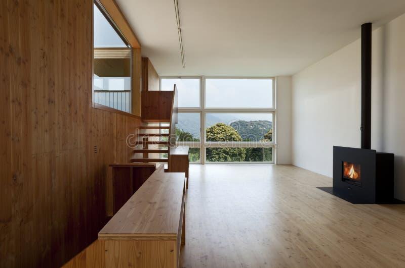 härligt ecologic hus arkivfoton