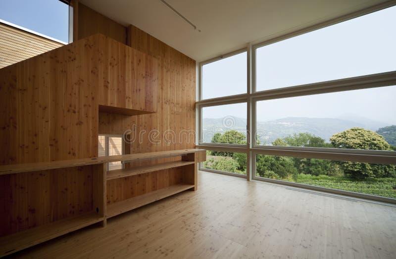 härligt ecologic hus arkivfoto