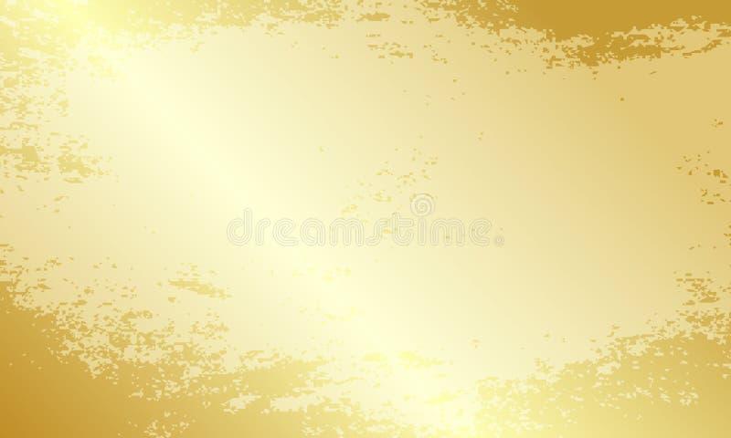 Härligt festligt ljus - brun bakgrund stock illustrationer