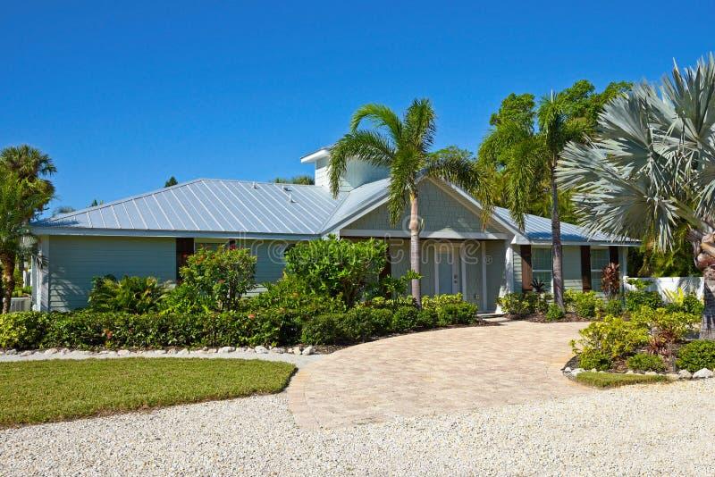 Härligt Florida hus arkivfoto
