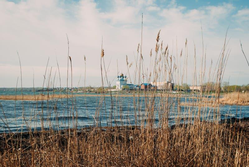 Härligt landskap i Chelyabinsk arkivbilder