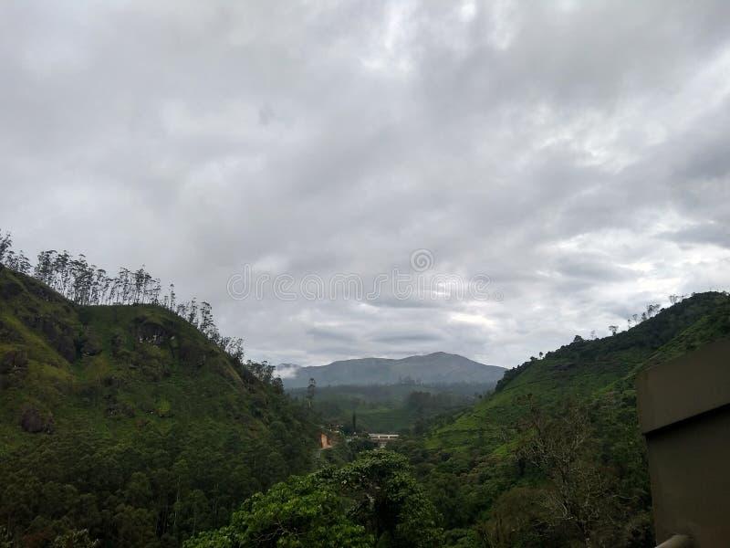 Härligt landskap i Indien arkivbilder