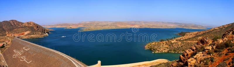 Härligt landskap i Marocko royaltyfri foto