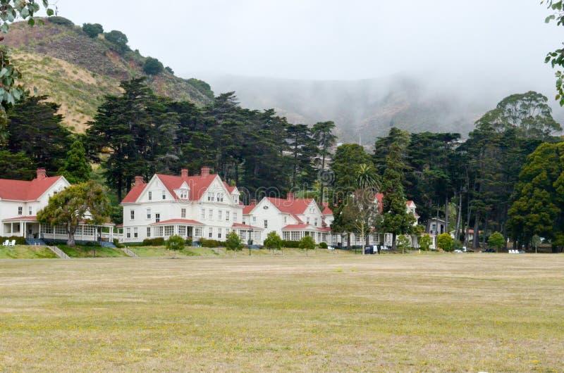 Härligt landskap i San Francisco California arkivfoto