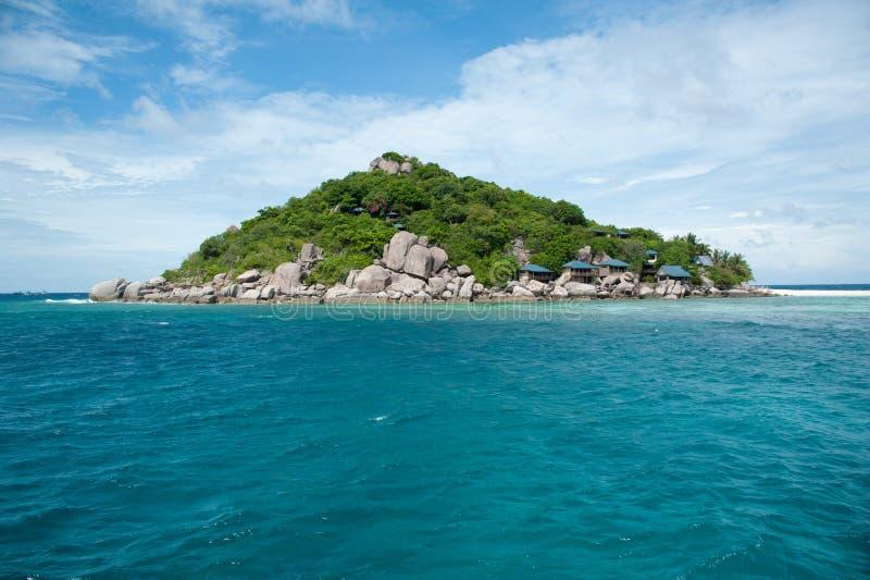 härligt paradis tropiska thailand royaltyfria bilder