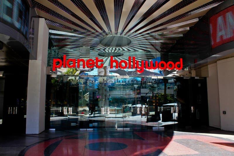 PlanetHollywood kasino, Las Vegas, NV. arkivfoton