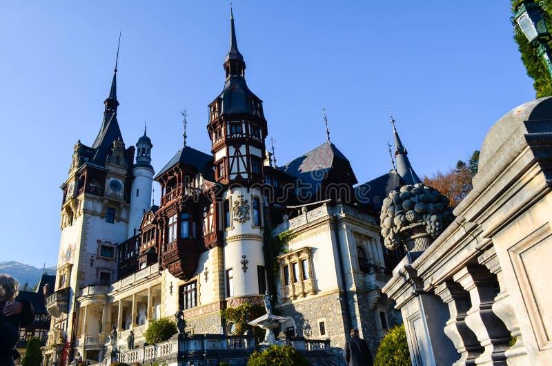 härligt slott royaltyfri foto