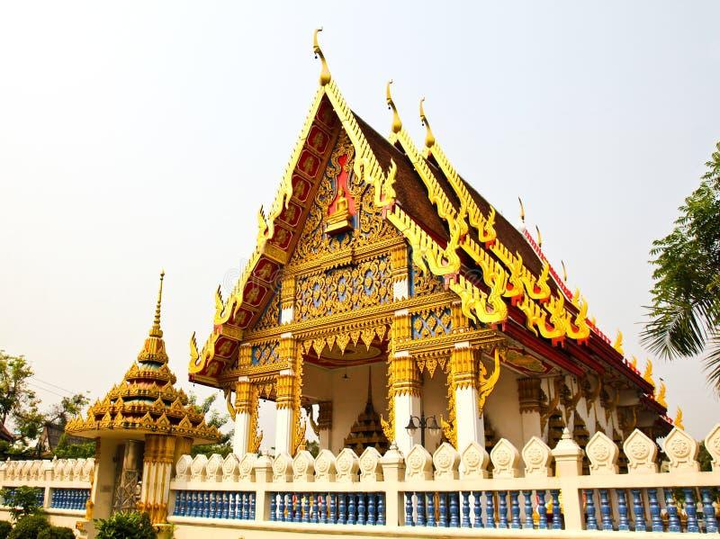 härligt tempel thai thailand royaltyfri foto