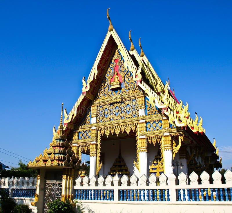 härligt tempel thai thailand fotografering för bildbyråer