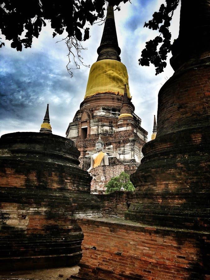 härligt tempel thailand royaltyfria foton
